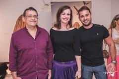 José Guedes, Glaucia Andrade e Veri Bessa