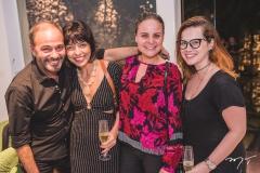 Marcus Novaies, Binca Cipola, Ana Virginia Furlane e Anik Mourão