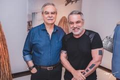 Max Perlingeiro e Lino Vilaventura