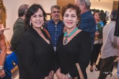 Nelma Figueiredo e Lilian Quindere