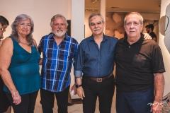Regina Helena, José Bezerra, Max Perlingeiro e Nelson Bezerra