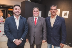 Júlio Cals, Joberth Alcantara e Rodrigo Vieira