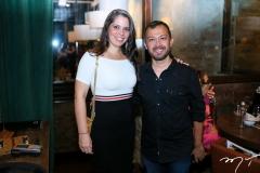 Candice Machado e Lucílio Lessa