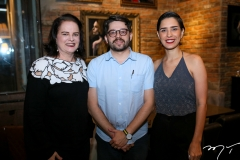 Ethel Whitehurst, Pedro Gonçalves e Alice Frota