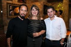 Juca Maximo, Marlyana Lima e Pompeu Vasconcelos