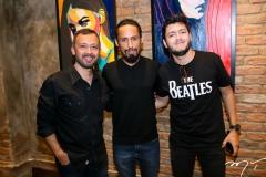 Lucílio Lessa , Juca Máximo e Felipe Goes
