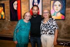 Maria Doralice, Juca e Yasmin Máximo