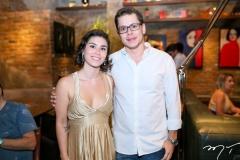 Tatiana Freire e Paulo Barata
