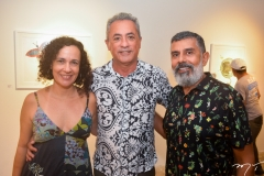 Ana Carolina Leite, Chico Gualbernei e Herbert Rolim