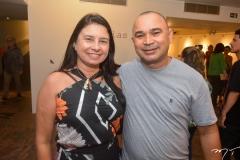 Francilene Barbosa e Silvano Tomaz