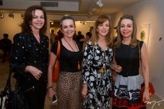 Gláucia Andrade, Valéria Andrade, Karísia Pontes e Venúsia Ribeiro