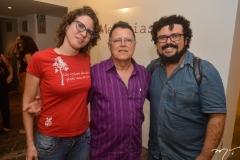 Carla Frota, Sebastião de Paula e Leimisson Casimiro