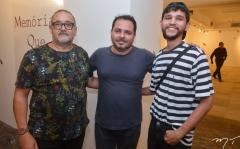 Zaquera Nobre, Wilber Lima e Jota Rodrigues