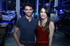 Alex Besser e Carol Vasconcelos