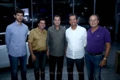 André Sobreira, Naldinho Sales, Kalil Otoch, Aristarco Sobreira e Silvino Cabral