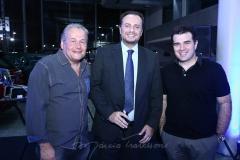 Ângelo Figueiredo, Adriano Nogueira e Danilo Dias