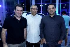 Danilo Dias, Odilon Peixoto e Martônio Freitas