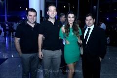 Danilo Dias, Victor Moreira, Camila Moreira e Pompeu Vasconcelos