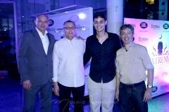 Flávio Jacinto, Odilon Peixoto, Lúcio Salazar e André Marinho