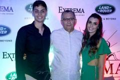Lúcio Salazar, Odilon Peixoto e Camila Moreira