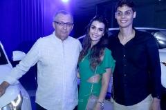 Odilon Peixoto, Camila Moreira e Lúcio Salazar