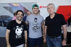 Atila Fernandes, Emanuel Machado e Parraga Gomes