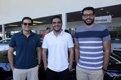 Augusto Martins, Daniel Adams e Fred Paiva