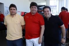 Beto Araújo, George Lima e Chico Vale