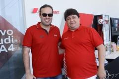Célio Gurjel e George Lima