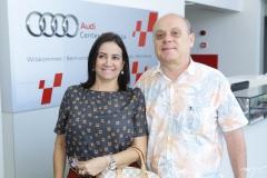 Cristina Albuquerque e Aquiles Gomes
