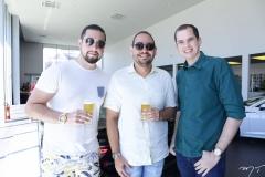 Diego Roriz, Gomes de Freitas e Igor Rodrigues