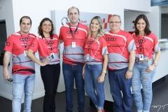 Eimar Junior, Jaqueline Miranda, Marcelo Feitosa, Aila Cristina, Jairle Oliveira e Larissa Oliveira
