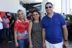 Fernanda Ary, Adriana Santana e Jaime Junior