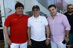 George Lima, Paulo Teixeira e Carlos Pinheiro