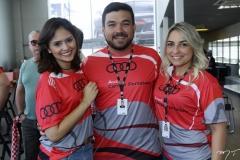 Larissa Oliveira, Daniel Uchoa e Fernanda Ary