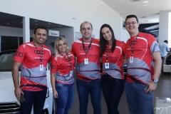 Régis Castro, Fernanda Ary, Marcelo Feitosa, Deyse Terra e Tiago Vidal