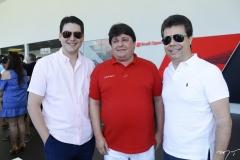 Rosalvo Carneiro, George Lima e Duda Brígido