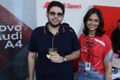 Rubens Sales e Larissa Oliveira