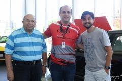 Valmir Rosa, Marcelo Feitosa e Saul Pedrosa