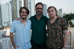 Diego Pascoal, Keith Harris e João Victor