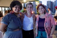 Neyriane Nascimento, Elson Brito e Aline Machado