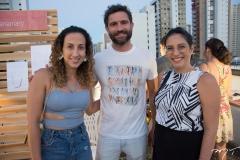 Sasha Rives, Raul Lira e Nathalia Canamary