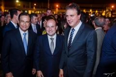 Beto Studart, Roberto Claudio e Camilo Santana