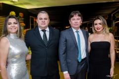 Cibele Lucena, Alexandre Engels, Edgar Gadelha e Jaqueline Maia