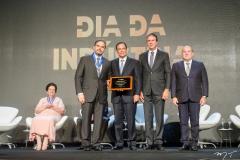 Edson Queiroz Neto, Beto Studart, Camilo Santana e Roberto Claudio