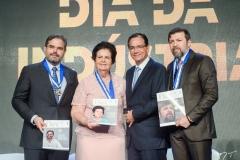 Edson Queiroz Neto, Elisa Gradvohl, Beto Studart e Élcio Batista