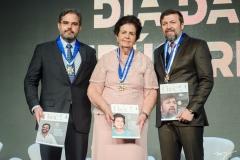 Edson Queiroz Neto, Elisa Gradvohl e Élcio Batista