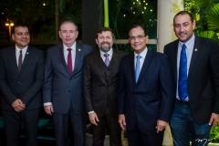 Esio Feitosa, Ricardo Cavalcante, Élcio Batista Beto Studart e Renan Colares