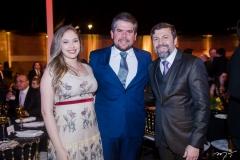 Fábio e Beatriz Zec e Élcio Batista