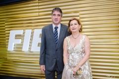 José Maria Gondim e Fátima Veras